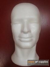 Polystyrene Male Head