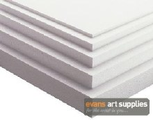 Polystyrene Sheet 30x40cm 20mm