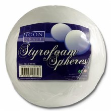 Polystryene Sphere 20cm Icon