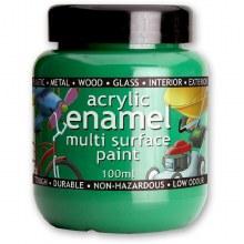 Polyvine 100ml Enamel Paint Green