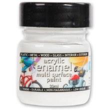 Polyvine 100ml Enamel Paint White