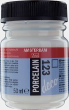 Amsterdam Deco Porcelain 123 Matt Colourless 50ml