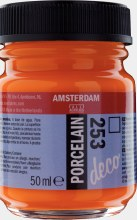 Amsterdam Deco Porcelain 253 Gold Yellow 50ml