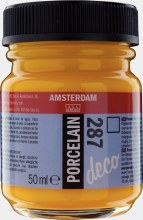 Amsterdam Deco Porcelain 287 Bright Yellow 50ml