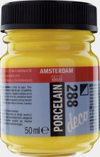 Amsterdam Deco Porcelain 288 Bright Yellow Opaque 50ml