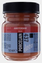 Amsterdam Deco Porcelain 437 Terra Opaque 50ml