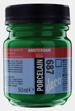 Amsterdam Deco Porcelain 687 Bright Green 50ml