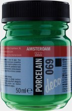 Amsterdam Deco Porcelain 690 Bright Green Opaque 50ml