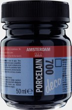 Amsterdam Deco Porcelain 700 Black 50ml