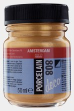 Amsterdam Deco Porcelain 808 Gold Opaque 50ml