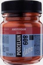 Amsterdam Deco Porcelain 809 Copper Opaque 50ml