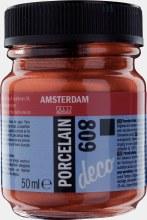 Amsterdam Deco Porcelain 809 Copper Opaque 50ml
