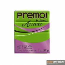 Premo Accents 2oz Green Pearl