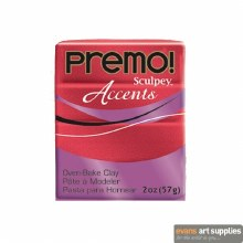 Premo Accents 2oz Red Glitter