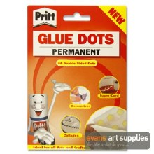 Pritt Permanent Glue Dots 64s