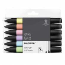 PROMARKER Set Pastel Tones 6s