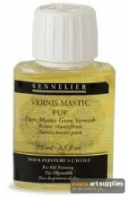 Pure mastic varnish>75 ml