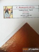 Rob Copper Leaf 14x14cm