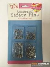 Safety Pins 80 Silver
