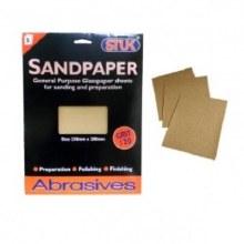 Sandpaper Fine 5 Sheets