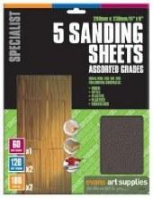 Sandpaper Coarse 5s