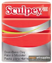 SCULPEY 2OZ RED HOT RED