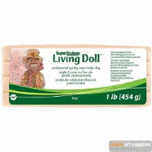 Sculpey Living Doll Beige 454g