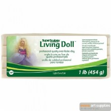 Sculpey Living Doll Light 454g