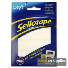 Sellotape Sticky Fixers 56s