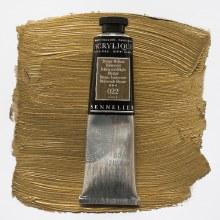 Sennelier Artists Acrylic 60ml Iridescent Bright Bronze 022