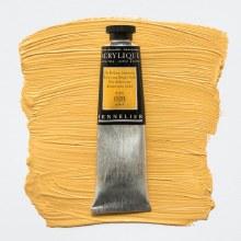 Sennelier Artists Acrylic 60ml Iridescent Bright Gold 028