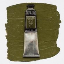 Sennelier Artists Acrylic 60ml Burnt Green Earth 214