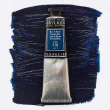 Sennelier Artists Acrylic 60ml Prussian Blue 318