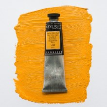 Sennelier Artists Acrylic 60ml Mars Yellow Light 504