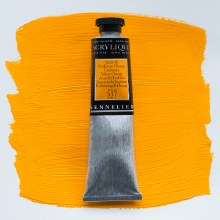 Sennelier Artists Acrylic 60ml Cadmium Yellow Orange 537