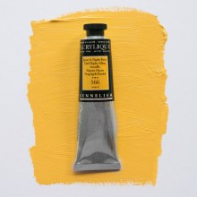 Sennelier Artists Acrylic 60ml Dark Naples Yellow 566