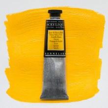 Sennelier Artists Acrylic 60ml Hansa Yellow Dark 577