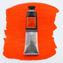 Sennelier Artists Acrylic 60ml Red Orange 640