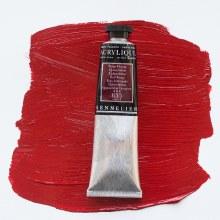 Sennelier Artists Acrylic 60ml Quinacridone Red Orange 655