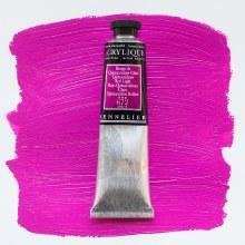 Sennelier Artists Acrylic 60ml Quinacridone Red Light 672