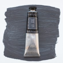 Sennelier Artists Acrylic 60ml Graphite 766