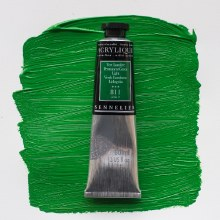 Sennelier Artists Acrylic 60ml Permanent Green Light 811