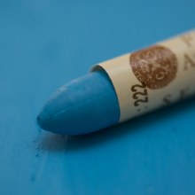 Std Oil pastel>Phtalo Blue 222