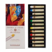 Sennelier Oil Pastels - Introductory Set 12 colours