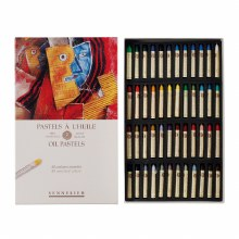 Sennelier Oil Pastels - Assorted 48 colours