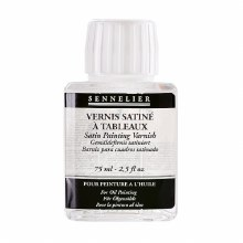 Satin painting varnish>75 ml