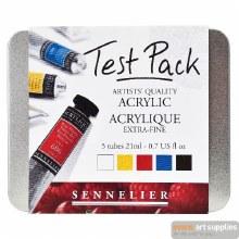 Sennelier Test Pack Acrylique