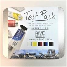 Sennelier Test Pack Rive Oils