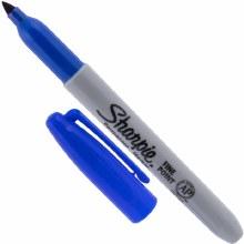 Sharpie Marker Blue