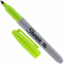 Sharpie Marker Lime